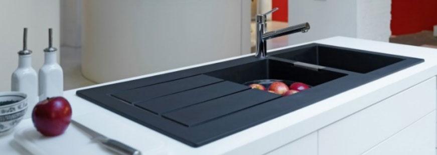 Dr cuisines nos conseils les points d eau - Comment installer un evier sur un plan de travail ...
